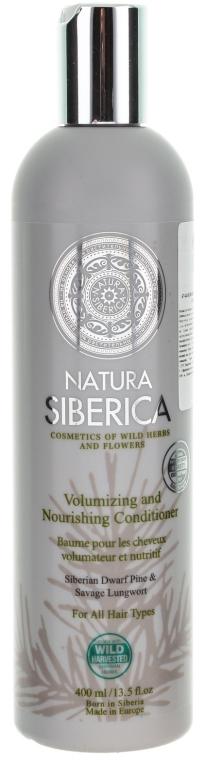 """Balzam na všetky typy vlasov """"Objem a starostlivosť"""" - Natura Siberica — Obrázky N1"""