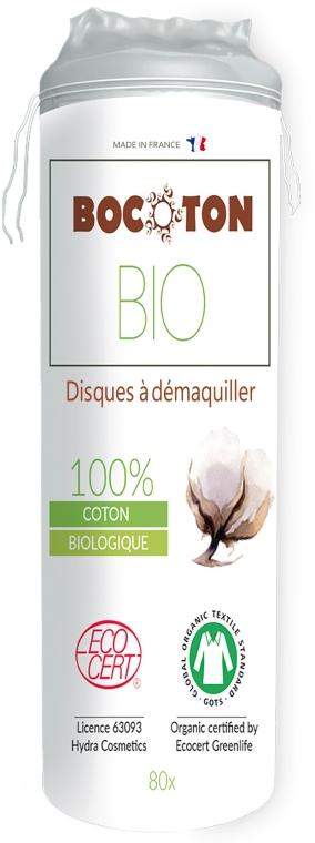 Bio vatové tampóny okrúhle, 80 ks - Bocoton