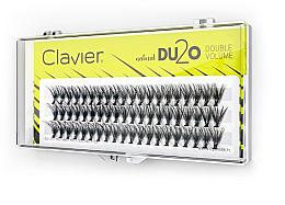 """Voňavky, Parfémy, kozmetika Falošné mihalnice """"Dvojitý objem"""", 13 mm - Clavier DU2O Double Volume"""