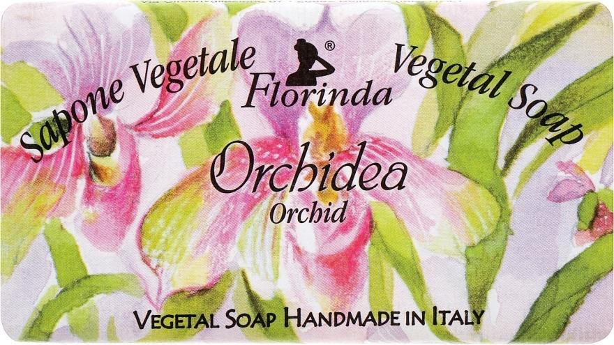 "Prírodné mydlo ""Orchidea"" - Florinda Sapone Vegetale Vegetal Soap Orchid — Obrázky N1"