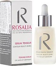 Voňavky, Parfémy, kozmetika Spevňujúce sérum pre kontúry očí a pier - Naturado Rosalia Serum Eye And Lip Contours