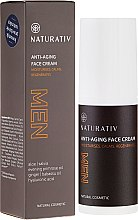 Voňavky, Parfémy, kozmetika Krém na tvár - Naturativ Men Face Cream
