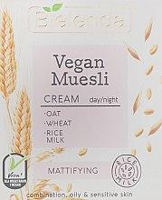 Voňavky, Parfémy, kozmetika Zmatňujúci krém na tvár - Bielenda Vegan Muesli Mattifying Day Night Cream