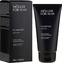 Voňavky, Parfémy, kozmetika Krém na holenie - Anne Moller Man Flashtec Shaving Face And Body Shaving Cream