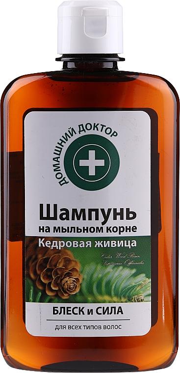"""Šampón """"Cédrová živica"""" pre lesk a pevnosť vlasov - Domáci doktor"""