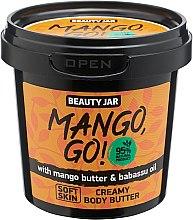 "Voňavky, Parfémy, kozmetika Krém na telo ""Mango, Go!"" - Beauty Jar Shimmering Creamy Body Butter"