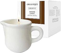 """Voňavky, Parfémy, kozmetika Sviečka pre SPA masáž """"Biela keramika"""" Guarana - Organique Spa Massage Candle Guarana"""