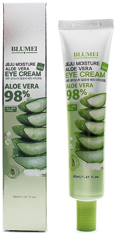 Krém na pokožku okolo očí - Blumei Jeju Moisture Aloe Vera Eye Cream — Obrázky N1