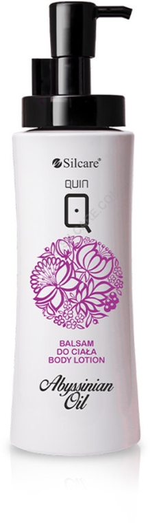 Lotion na telo - Silcare Quin Abyssinian Oil Body Lotion