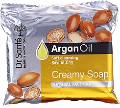 Voňavky, Parfémy, kozmetika Krémové mydlo na tvár s arganovým olejom - Dr.Sante Cream Soap