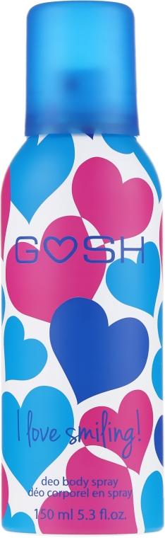 Dezodorant v spreji - Gosh I Love Smiling Deo Body Spray