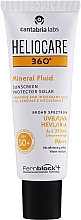 Voňavky, Parfémy, kozmetika Zmäkčujúci minerálny fluid - Cantabria Labs Heliocare 360º Mineral Fluid SPF 50+