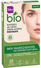 Voňavky, Parfémy, kozmetika Depilačné voskové pásky na tvár - Taky Bio Natural 0% Face Wax Strips