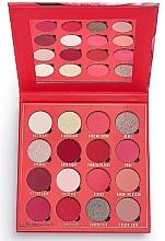 Voňavky, Parfémy, kozmetika Paleta očných tieňov, 16 odtieňov - Makeup Obsession Kisses Eyeshadow Palette
