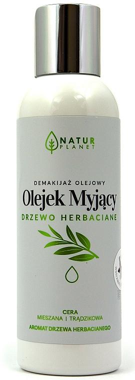 Čistiaci olej na tvár - Natur Planet Washing Oil Tea Tree