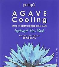 Voňavky, Parfémy, kozmetika Hydrogélová chladivá maska s agávovým extraktom - Petitfee&Koelf Agave Cooling Hydrogel Face Mask