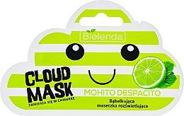 """Voňavky, Parfémy, kozmetika Maska-mrak tvár """"Mojito"""" - Bielenda Cloud Mask Mohito Despacito"""