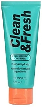 Voňavky, Parfémy, kozmetika Hlinená maska na čistenie pórov - Eunyul Clean & Fresh Pore Refining Clay Mask