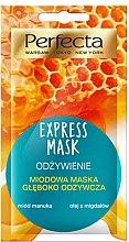 """Voňavky, Parfémy, kozmetika Maska na tvár """"Vyživujúca"""" - Perfecta Express Mask"""