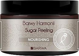 """Voňavky, Parfémy, kozmetika Cukrový peeling na telo """"Výživný"""" - Barwa Harmony Sugar Peeling Nourihing"""