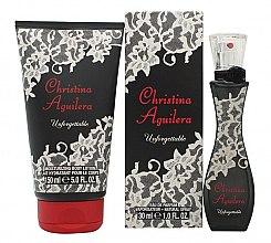 Voňavky, Parfémy, kozmetika Christina Aguilera Unforgettable - Sada (edp/30ml + b/lot/150ml)