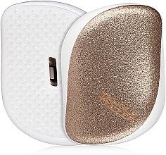 Voňavky, Parfémy, kozmetika Kompaktná kefa na vlasy - Tangle Teezer Compact Styler Glitter Gold