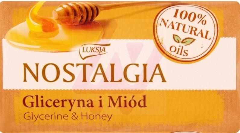 """Mydlo """"Glycerín a medové mydlo"""" - Luksja Nostalgia Glycerin & Honey Soap"""