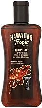 Voňavky, Parfémy, kozmetika Olejový sprej na opaľovanie - Hawaiian Tropic Tropical Tanning Oil Coconut SPF 4