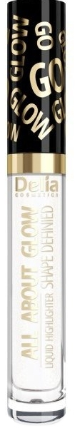 Tekutý highlighter - Delia All About Glow Shape Defined Liquid Highlighter