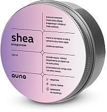 Voňavky, Parfémy, kozmetika Bambucké maslo na tvár a telo Hrozno - Auna Shea Grape Butter