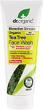 Voňavky, Parfémy, kozmetika Čistiaci gél na tvár s čajovým extraktom - Dr. Organic Tea Tree Face Wash