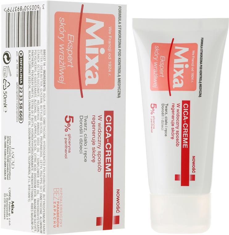 Krém na tvár, telo a ruky - Mixa Cica Cream