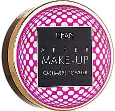 Voňavky, Parfémy, kozmetika Kompaktný púder na tvár - Hean After Makeup-up Cashmere Compact Powder
