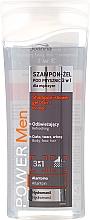 Voňavky, Parfémy, kozmetika Šampónový sprchový gél 3v1 - Joanna Power Men Shampoo&ShowerGel