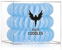 Voňavky, Parfémy, kozmetika Gumička do vlasov, modrá, 3 ks - HH Simonsen Hair Cuddles Light Blue