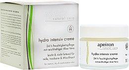 Voňavky, Parfémy, kozmetika Intenzívne hydratačný krém - Apeiron Hydro Intensiv Cream 24h