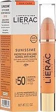 Voňavky, Parfémy, kozmetika Balzam pre oblasť okolo očí - Lierac Sunissime Protective Eye Care Anti-Age Global SPF50