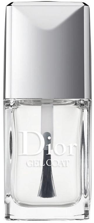 Vrchový fixačný gél pre nechty - Dior Gel Coat — Obrázky N1