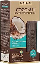Voňavky, Parfémy, kozmetika Regeneračný olej na vlasy - Kativa Coconut Reconstruction Oil