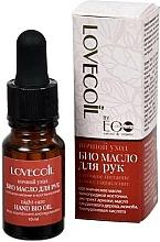 """Voňavky, Parfémy, kozmetika Bio olej na ruky """"Hĺbková výživa a regenerácia.Nočná starostlivosť"""" - ECO Laboratorie Lovecoil Night Care Hand Bio-Oil"""