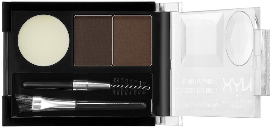 Tiene na obočie - NYX Professional Makeup Eyebrow Cake Powder