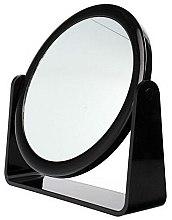 Voňavky, Parfémy, kozmetika Kozmetické zrkadlo obojstranné, 85055, čierne - Top Choice
