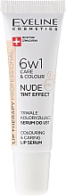 Voňavky, Parfémy, kozmetika Intenzívne sérum na pery 6v1 - Eveline Cosmetics Lip Therapy Proffesional Tint