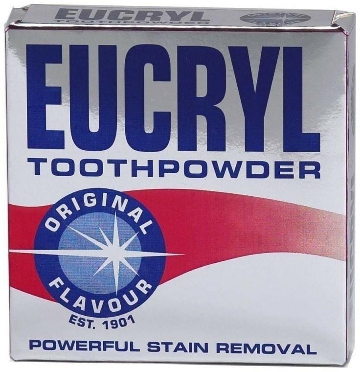Prášok na zuby - Eucryl Toothpowder Original