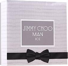 Voňavky, Parfémy, kozmetika Jimmy Choo Man Ice - Sada (edt/100 ml + ash/balm/100 ml + edt/7,5 ml)