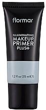 Voňavky, Parfémy, kozmetika Báza pod make-up na dodanie žiarivosti - Flormar Illuminating Make Up Primer Plus