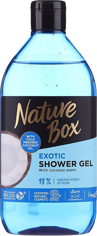 Osviežujúci sprchový gél s hydratačným účinkom - Nature Box Coconut Shower Gel