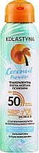 Voňavky, Parfémy, kozmetika Transparentný suchý ochranný sprej na tvár a telo - Kolastyna Coconut Paradise SPF50