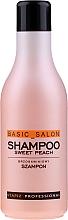 """Voňavky, Parfémy, kozmetika Šampón na vlasy """"Broskyňa"""" - Stapiz Basic Salon Shampoo Sweet Peach"""