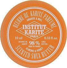 Voňavky, Parfémy, kozmetika Olej Shea z mandľou príchuťou a medu 98% - Institut Karite Almond Honey Scented Shea Butter